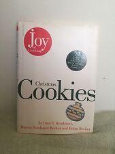 Joy of Cooking Christmas Cookies by Irma S. Rombauer (1995) HCDJ