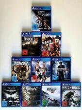 PS4 Spielesammlung mit 10 Spielen