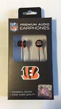 Cincinnati Bengals iHip Premium Audio Earphones Earbuds - iPhone iPod NEW