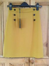 """Hobbs """"Eimear"""" Skirt, Deep Gold, Size 6, New with Tags RRP £99"""