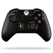 Genuine Official Microsoft Xbox One Black Wireless Controller.