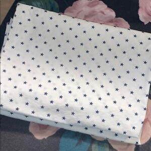 Star printed pillowcases