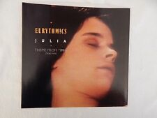 "EURYTHMICS ""Julia"" PICTURE SLEEVE! BRAND NEW! ONLY NEW COPY ON eBAY!!"