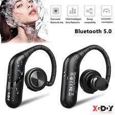Bluetooth Wireless Stereo Headset In-Ear Earbuds Headphones Waterproof With Mic