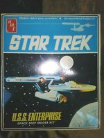 AMT / ERTL U.S.S. ENTERPRISE SPACE SHIP MODEL KIT,STAR TREK 1983,NEW SEALED MIB