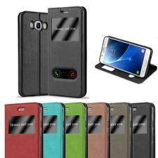 Case for Samsung Galaxy J5 2016 Phone Cover Viewing Windows Wallet Book