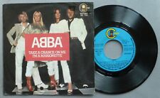 """ABBA – Take A Chance On Me – 7"""" Single – Spain – Carnaby"""