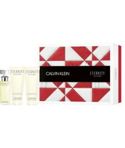 Calvin Klein Eternity Pour Femme - Gift Set With 50ml EDP Spray, 100ml Body Loti