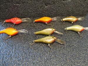 7- POE'S WOOD CRANKBAIT FISHING LURES