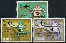 Yemen 1966 SG#R158-R160 Olympic Games Preparation MH Set #D58527