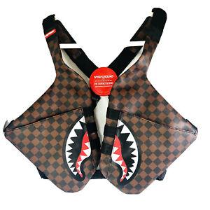 Sprayground Side Sharks in Paris Shoulder Pack