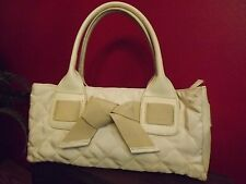 Trendy Sydney Love Hobo/Handbag, Beige Quilted Fabric