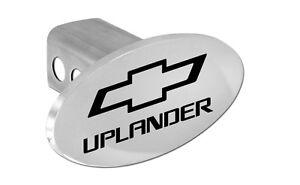 Chevy Uplander Emblem W/Black Bowtie & Block Letters Hitch Cover