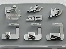Low High Shank Bias Binder Rolled Hem Foot Set Fits - MOST MAKES OF SEWING MACHI