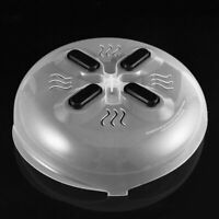 Practical Magnet Food Splatter Guard Microwave Hover Anti-Sputtering Cover Lid+%