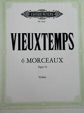 Vieuxtemps - 6 Morceaux Op. 55 - Violine