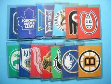 SET 14 1970/71 ESSO POWER PLAYER NHL LOGOS BOSTON BRUINS MONTREAL CANADIENS