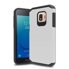 For Samsung Galaxy J2 Core/Pure/Dash Shockproof Armor Dual Case+Tempered Glass