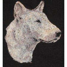 Embroidered Short-Sleeved T-shirt - Bull Terrier Aed14969 Sizes S - Xxl