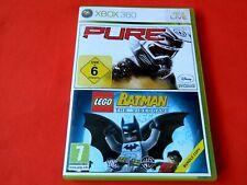 PURE AND BATMAN XBOX 360 GAME