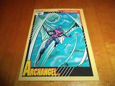 Archangel # 47 - 1991 Marvel Universe Series 2 Impel Base Trading Card