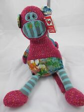 "GANZ Watermark Monkey Plush Toy 15"" - NEW"