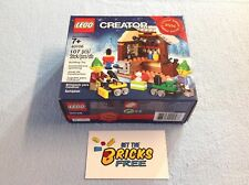 Lego Christmas Exclusive 40106 Toy Workshop New/Sealed/Retired/Hard to Find