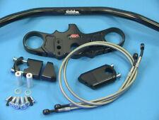 Abm Superbike Booster Lenker-Kit Kawasaki ZX-6 R (ZX636B) 03-04 Nero