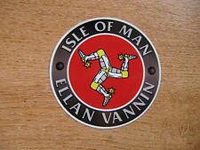 Isle Of Man Tt Carreras-Ellan Vanni - 75mm calcomanía