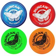 "Duncan Butterfly Yo Yo Original Classic Blue Red Green or Orange  World""s #1"