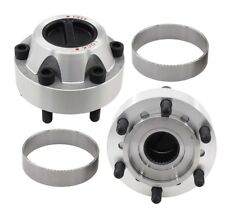 2X Free Wheeling Manual Locking Hubs For Nissan Patrol GU GQ Ford Maverick
