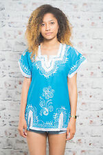 Ethnic/Peasant Vintage Tops & Shirts Tunic/Kaftans for Women