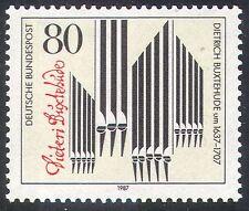 Allemagne 1987 BUXTEHUDE/musique/TUYAUX D'ORGUE/Signature // Compositeurs/personnes 1 V (n31725)
