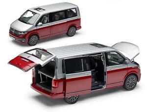 Volkswagen VW T6.1 Bus Generation Six 1:18 NZG Rouge-Argent 7L1099302BL9