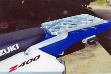 PRO MOTO BILLET CARGO RACK - SILVER - Suzuki DRZ400S, DRZ400SM _PMB-01-4201