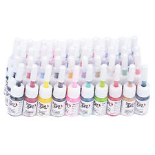 Pernament Tattoo Ink 40 Mixed Colors Pigment 5ml/bottle Complete Set Supply Kit