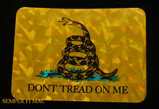 DON'T THREAD ON ME DECAL ZAP US ARMY NAVY AIR FORCE MARINES COAST GUARD USA FLAG