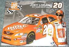 """JOEY LOGANO 2011 #20 Home Depot Racing 8.5"""" x 11"""" NASCAR Postcards (LOT of 43)"""