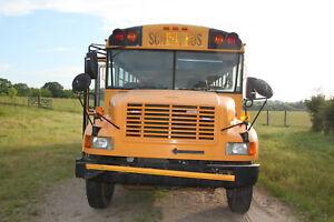 2000 International Amtran 66 Passenger School Bus Diesel