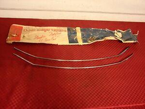 66 1966 CADILLAC COUPE CONVERTIBLE NOS GM DOOR EDGE GUARDS 990593