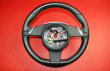 Porsche 987 Boxster 911 997 Carrera PDK Steering Wheel Black Leather 99734780365