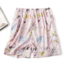 "Women Girl's 100% Silk Shorts Boy Shorts Knicker with Side Pockets M Fit 26-31"""