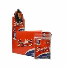 SMOKING FILTRI SLIM 6mm EXTRA LUNGHI 22mm. 1 BOX DA 30 BUSTINE DA 120 FILTRI.