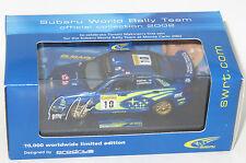 1/43 Subaru Impreza WRC Monte Carlo Rally 2002  Makinen Prodrive Limited Edition