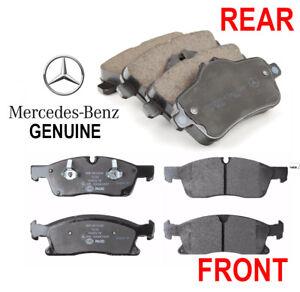 GENUINE OEM 2012 2013 2014 2015 Mercedes ML350 Front & Rear Disc Brake Pad Sets