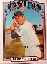 1972 Minnesota Twins Danny Thompson Topps #368 MLB Baseball Card Vikings Wild NM