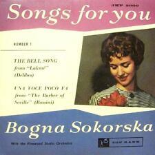"Bogna Sokorska(7"" Vinyl)Songs For You Vol. 1-Top Rank-JKP 2000-UK-VG/VG"