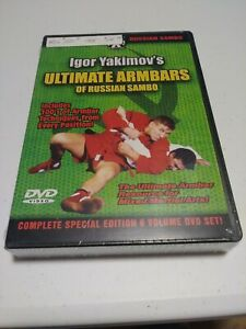 NEW! Igor yakimov ultimate armbars of Russian Sambo DVD Set - MMA BJJ