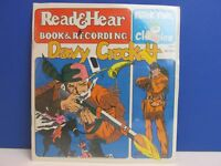 SEALED vintage DAVY CROCKETT READ & HEAR RECORD talking STORY BOOK peter pan 62o