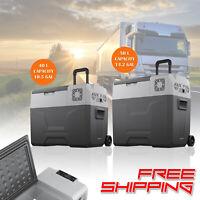 Portable Freezer Cooler Ice Maker with Compressor Refrigerator Fridge Truck Van